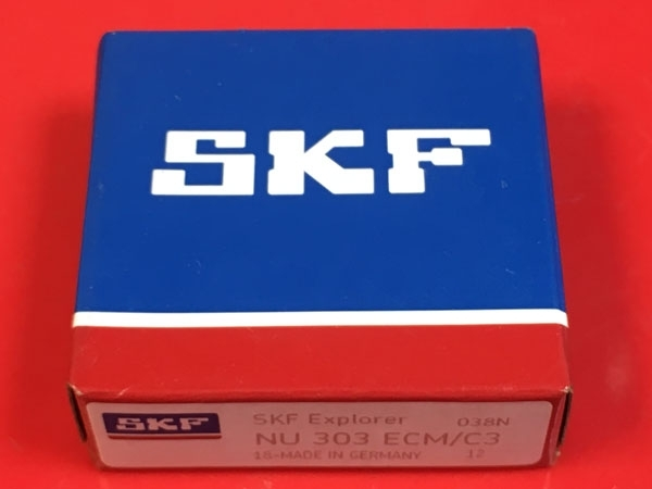 Подшипник NU303 ECM/C3 SKF аналог 32303 Л размеры 17х47х14