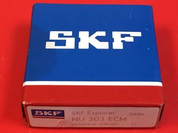 Подшипник NU303 ECM SKF аналог 32303 Л размеры 17х47х14