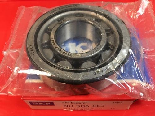 Подшипник NU306 ECJ SKF аналог 32306 размеры 30x72x19
