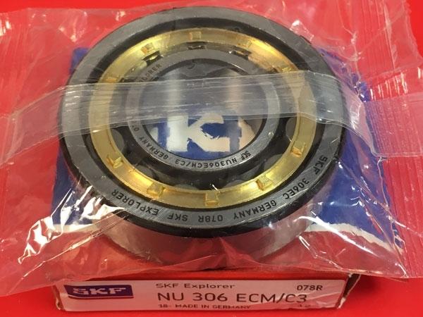 Подшипник NU306 ECM/C3 SKF аналог 32306 Л размеры 30x72x19