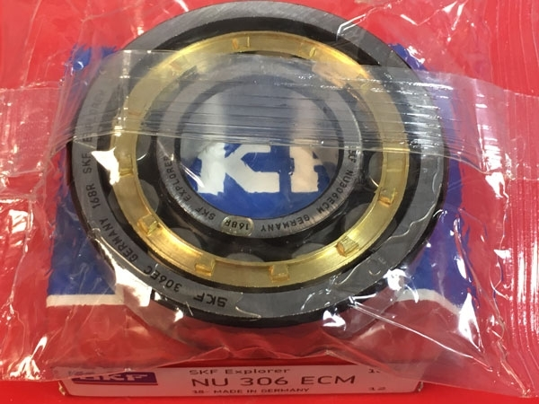 Подшипник NU306 ECM SKF аналог 32306 Л размеры 30x72x19