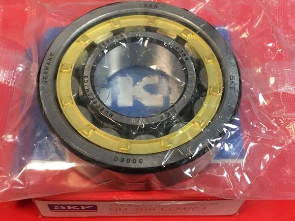 Подшипник NU308 ECM/C3 SKF аналог 32308 Л размеры 40x90x23