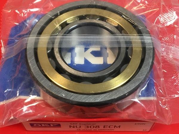 Подшипник NU308 ECM SKF аналог 32308 Л размеры 40*90*23