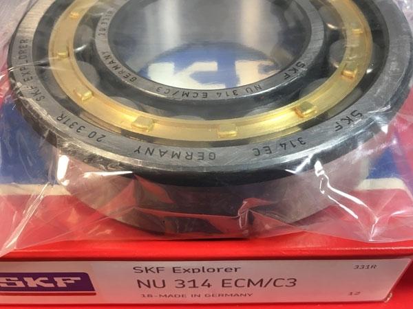 Подшипник NU314 ЕCМ/C3 SKF аналог 32314 Л размеры 70x150x35