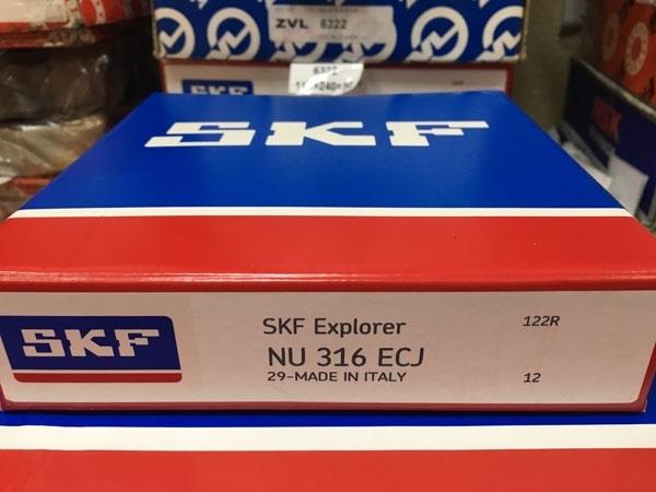 Подшипник NU316 ECJ SKF аналог 32316 размеры 80*170*39