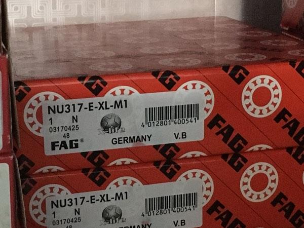 Подшипник NU317 E-XL-M1 FAG аналог 32317 Л размеры 85*180*41