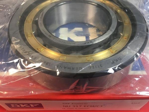 Подшипник NU317 ECM/C3 SKF аналог 32317 Л размеры 85x180x41