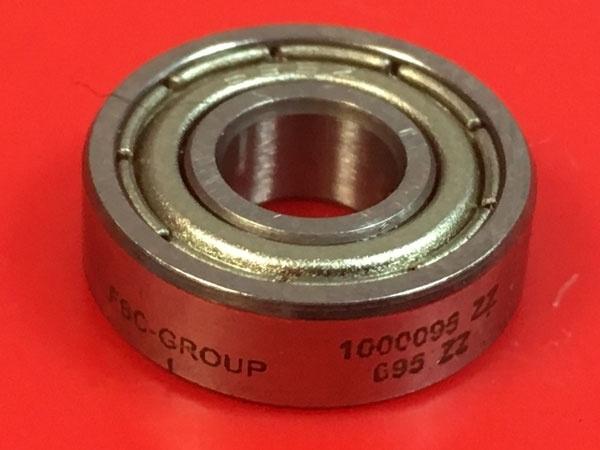 Подшипник 1000095-ZZ (695-ZZ) FBC-GROUP аналог 619/5-ZZ размеры 5х13х4