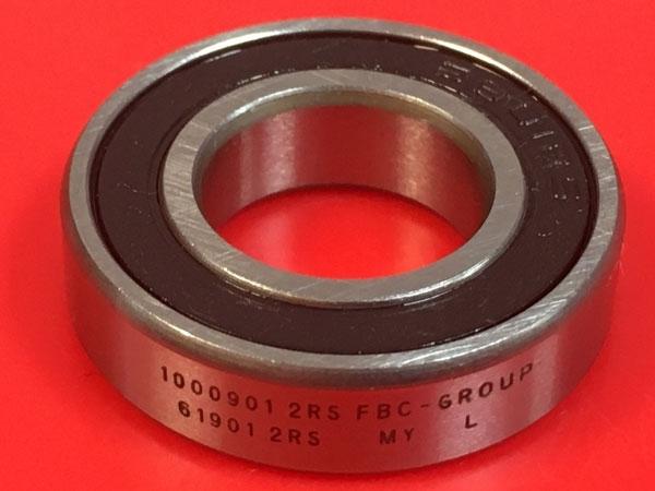 Подшипник 1000901-2RS аналог 61901-2RS (6901-2RS) FBC-GROUP размеры 12х24х6