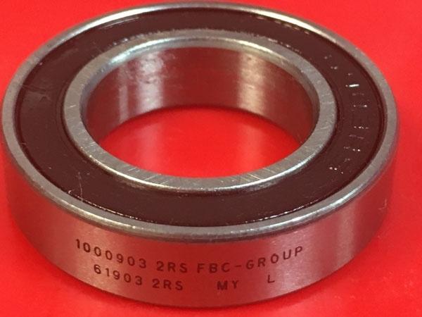 Подшипник 1000903-2RS аналог 61903-2RS (6903-2RS) FBC-GROUP размеры 17х30х7
