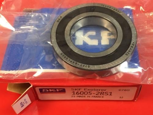 Подшипник 16005-2RS1 SKF аналог 7000105 2RS размеры 25x47x8