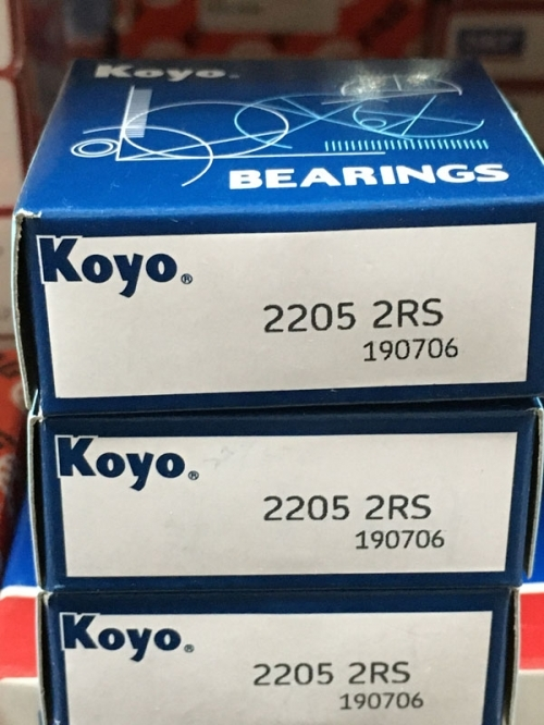 Подшипник 2205-2RS Koyo аналог 1505 размеры 25x52x18