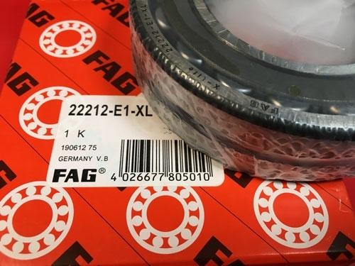 Подшипник 22212 Е1-XL FAG аналог 53512 Н размеры 60х110х28
