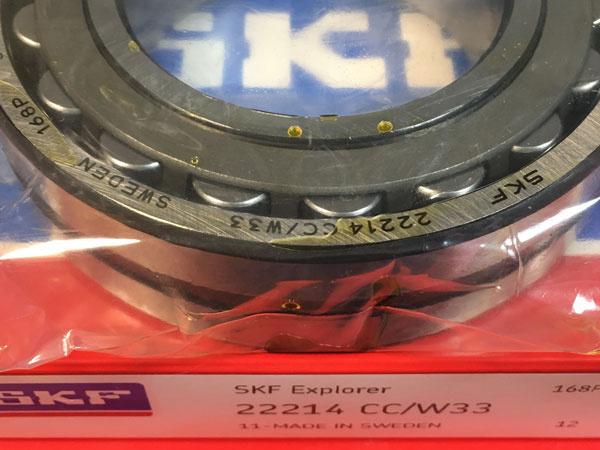 Подшипник 22214 CC/W33 SKF аналог 53514 Н размеры 70x125x31