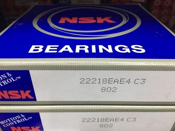Подшипник 22218 EAE4 С3 NSK аналог 53518 Н размеры 90x160x40 из наличия