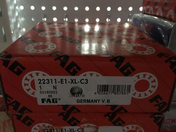 Подшипник 22311 E1-XL-C3 FAG аналог 53611 Н размеры 55*120*43