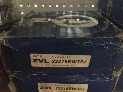Подшипник 22316 EW33J  ZVL аналог 53616 Н размеры 80*170*58