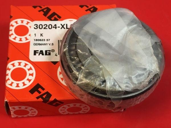 Подшипник 30204 XL FAG аналог 7204 размеры 20х47х15,25