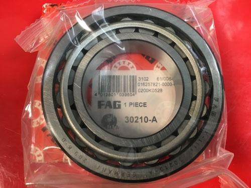 Подшипник 30210 A FAG аналог 7210 размеры 50x90x21,75