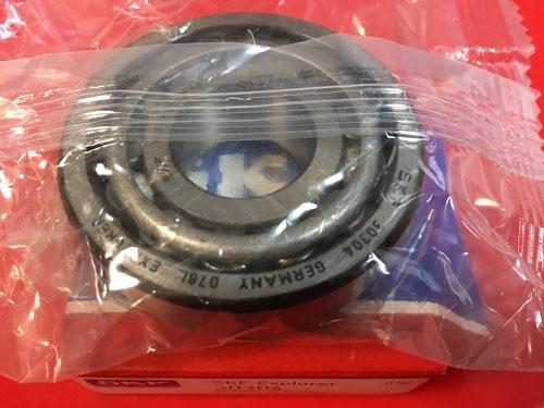 Подшипник 30304 SKF аналог 7304 размеры 20х52х16,25