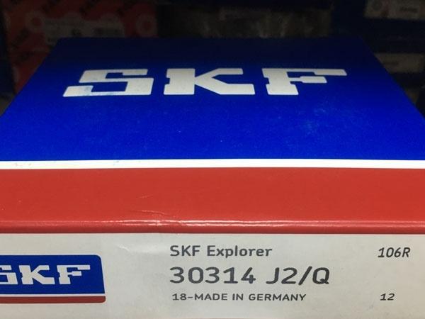 Подшипник 30314 J2/Q SKF аналог 7314 размеры 70*150*38