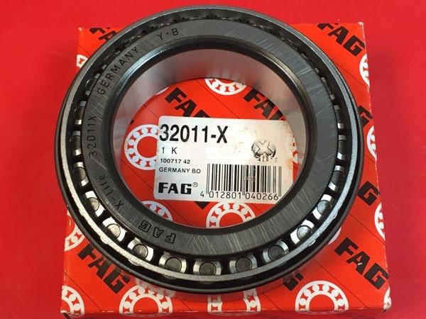Подшипник 32011 X FAG аналог 2007111 размеры 55x90x23