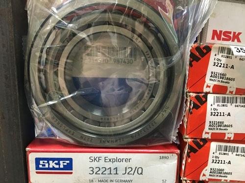 Подшипник 32211 J2 / Q SKF аналог 7511 размеры 55х100х26,75