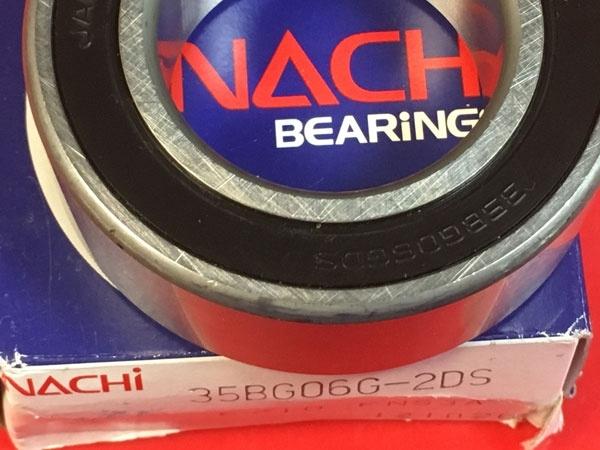 Подшипник 35BG06G-2DS NACHi компрессора кондиционера размеры 35x62x21