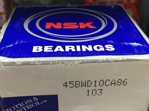 Подшипник 45BWD10CA86 NSK размеры 45х84х45