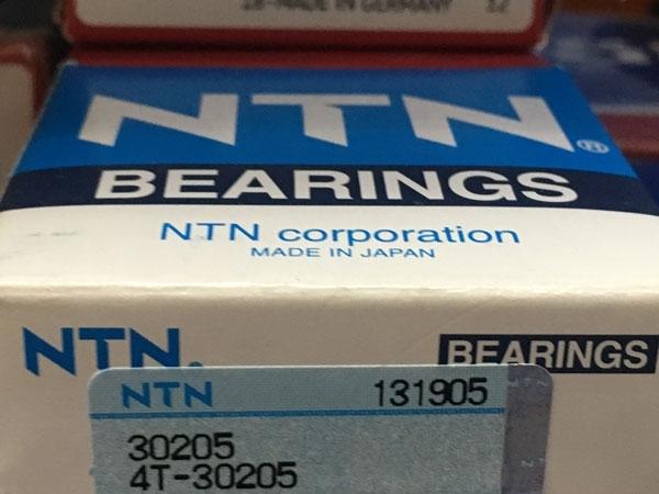 Подшипник 30205 (4T-30205) NTN аналог 7205 размеры 25х52х16,25