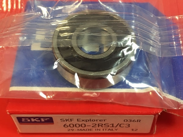 Подшипник 6000-2RS1/C3 SKF аналог 180100 размеры 10х26х8