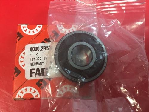 Подшипник 6000-2RS R FAG аналог 180100 размеры 10x26x8