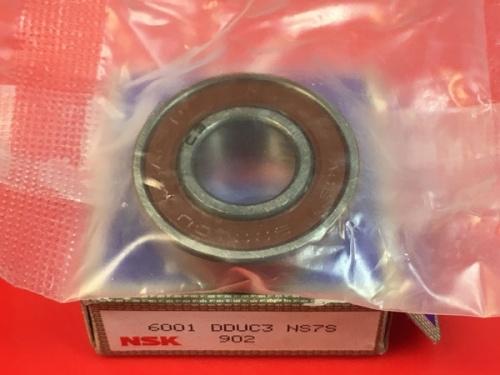 Подшипник 6001 DDU C3 NSK аналог 180101 размеры 12x28x8