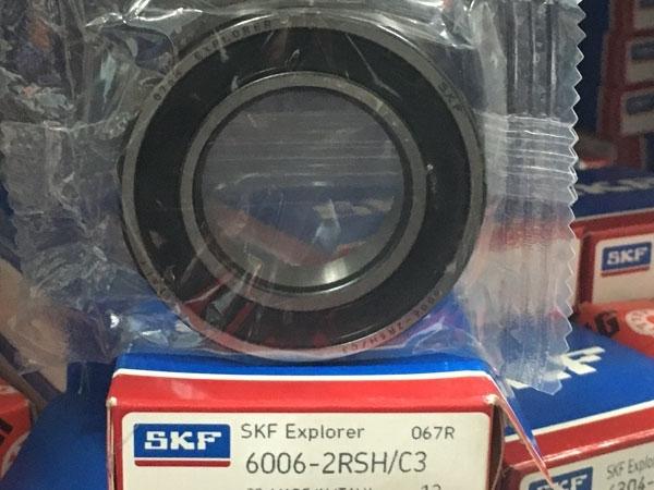 Подшипник 6006-2RS H C3 SKF аналог 180106 размеры 30*55*12