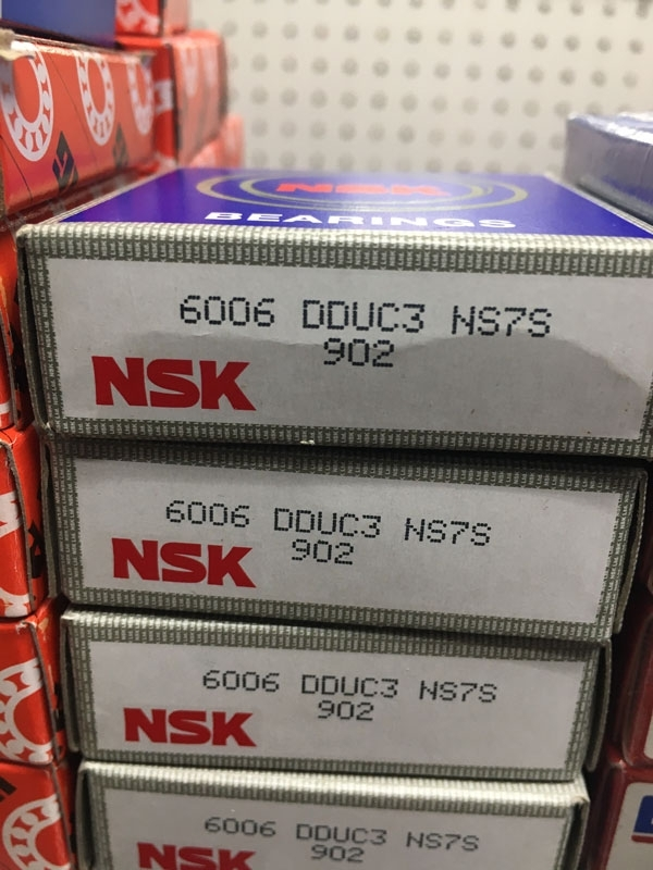 Подшипник 6006 DDU C3 NSK аналог 180106 размеры 30х55х12