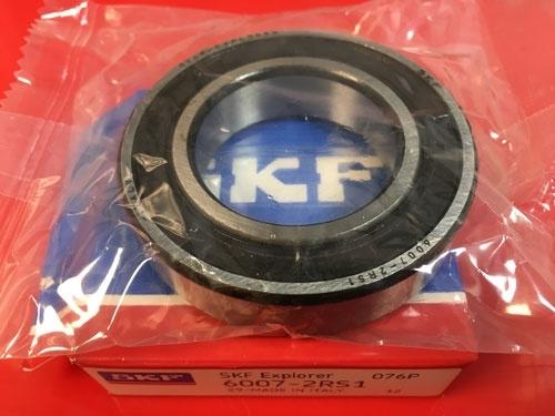 Подшипник 6007-2RS 1 SKF аналог 180107 размеры 35х62х14