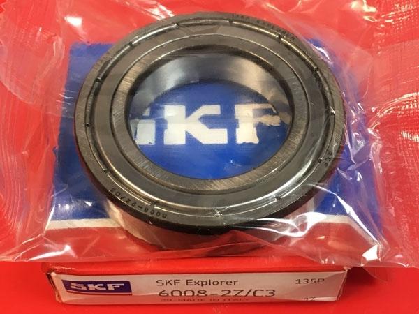 Подшипник 6008-2Z/C3 SKF аналог 180108 размеры 40x68x15