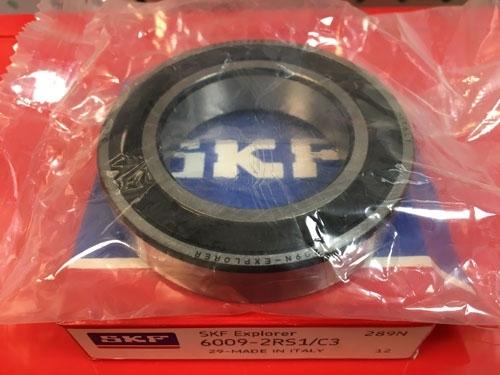 Подшипник 6009-2RS 1 С3 SKF аналог 180109 размеры 45х75х16
