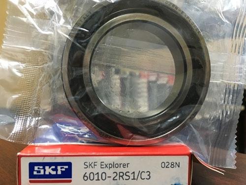 Подшипник 6010-2RS 1 С3 SKF аналог 180110 размеры 50*80*16