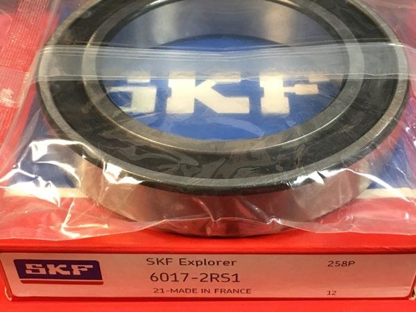 Подшипник 6017-2RS1 SKF аналог 180117 размеры 85х130х22