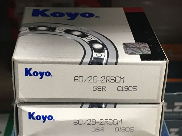 Подшипник 60/28-2RS CM Koyo размеры 28х52х12