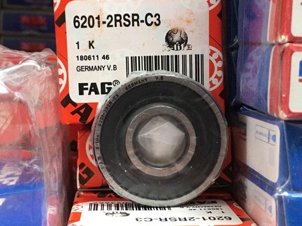 Подшипник 6201-2RS R C3 FAG аналог 180201 размеры 12х32х10