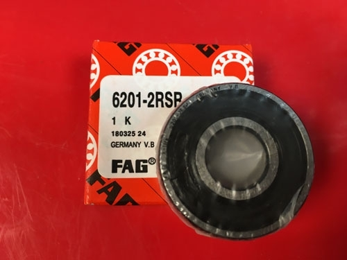 Подшипник 6201-2RS R FAG аналог 180201 размеры 12x32x10