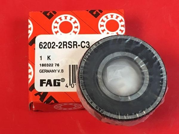 Подшипник 6202-2RS R C3 FAG аналог 180202 размеры 15x35x11