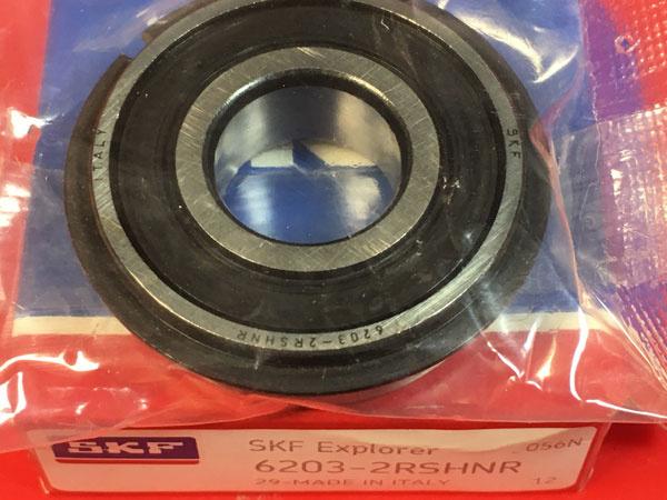 Подшипник 6203-2RS H NR SKF аналог 50203 размеры 17x40x12