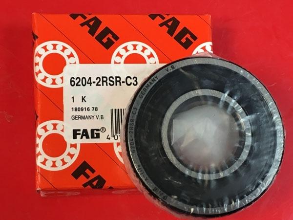 Подшипник 6204-2RS R C3 FAG аналог 180204 размеры 20x47x14