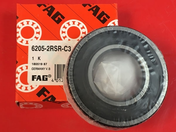 Подшипник 6205-2RS R C3 FAG аналог 180205 размеры 25x52x15