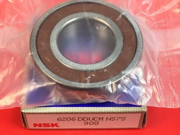 Подшипник 6206 DDU NSK аналог 180206 размеры 30x62x16