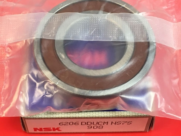 Подшипник 6206 DDU NSK аналог 180206 размеры 30*62*16