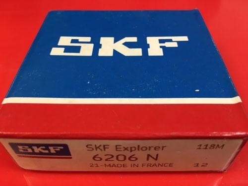 Подшипник 6206 N SKF аналог 50206 размеры 30х62х16